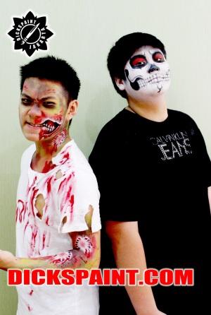 Make Up Horror Zombie Jakarta
