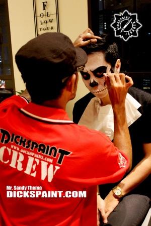 Face Painting Skull Death Jakarta
