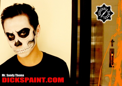 Make Up Zombie Skull Halloween jakarta