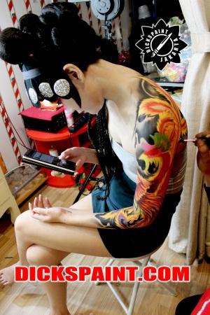 Body Painting Phoenix Jakarta