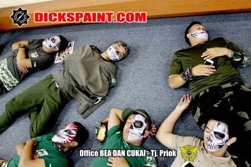 face painting bea cukai jakarta