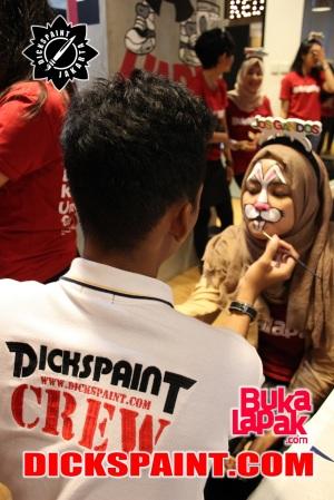 face painting buka lapak jakarta