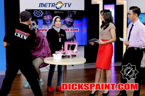 face painting metro tv jakarta