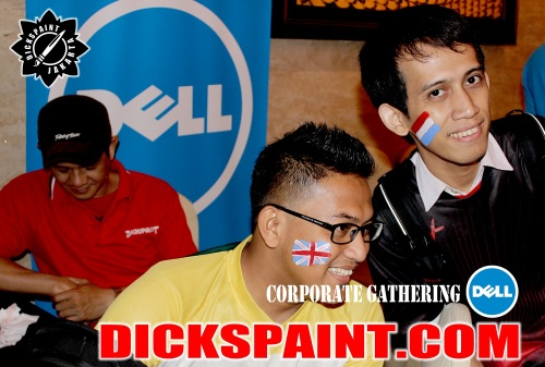 face painting dell jakarta