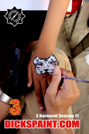 Body Painting Kids Jakarta