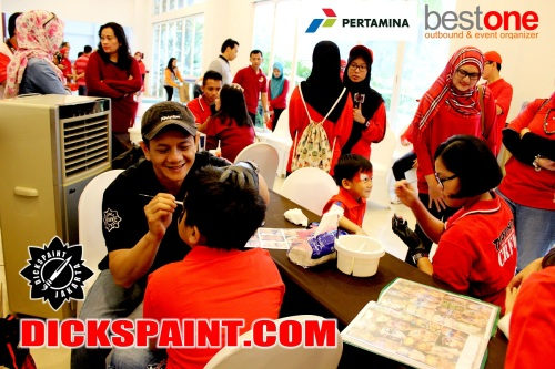 Face Painting Kids Pertamina Bogor